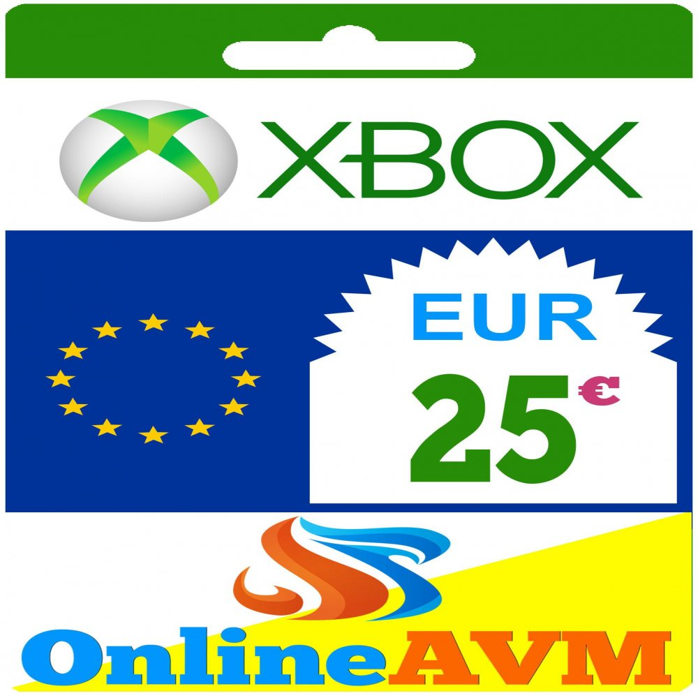 Xbox Live Gift Card 25 Eur Xbox Gift Card 25 Eur Onlineavm Com Tr