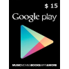 Google Play $15 (Usd) (Usa/North America) Gift Card