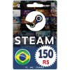 Steam Gift Card 150 BRL Reals  Steam Wallet Key  BRL