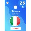 Apple iTunes Gift Card 25 EUR iTunes Key İtaly