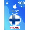 Apple iTunes Gift Card 100 EUR iTunes Key Finland (Fi)