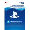 PlayStation Network Card 40 CHF (CH) PSN Guthaben Aufstockung Key Switzerland
