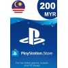 PlayStation Network Card 200 MYR (MY) PSN 200 My Credit Tambah Nilai Malaysia