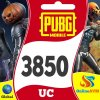 PUBG Mobile 3850 UC Unknown Cash Pubg Mobile Uc