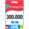 Google Play Gift Card 300000 IDR Indonesia