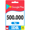 Google Play Gift Card 500000 IDR Indonesia