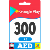 Google Play Gift Card 300 AED - Google Play Key - UNITED ARAB EMIRATES