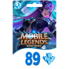 Mobile Legends Bang Bang 89 Diamond Moonton Global