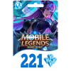 Mobile Legends Bang Bang 221 Diamond Global