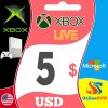 XBOX Live Gift Card 5 USD Xbox Live Key UNITED STATES