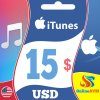 Apple iTunes Gift Card 15 USD iTunes Key UNITED STATES