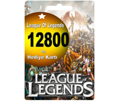 League Of Legends Türkiye 12800 Riot Point Rp Lol Rp