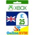 £25 Xbox Digital Gift Card