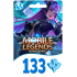 Mobile Legends Bang Bang 133 Diamond Moonton Global