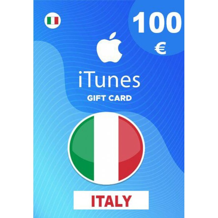 Apple iTunes Gift Card 100 EUR iTunes Key İtaly