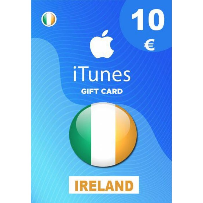 Apple iTunes Gift Card 10 EUR iTunes Key iRLAND
