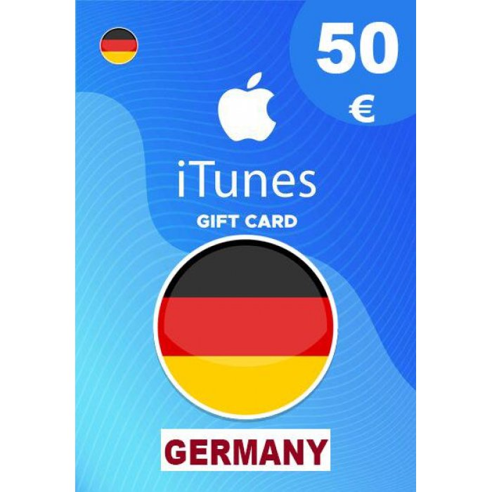 Apple iTunes Gift Card 50 EUR iTunes Key Germany