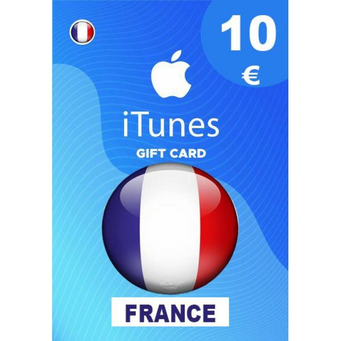 Apple iTunes Gift Card 10 EUR iTunes Key France