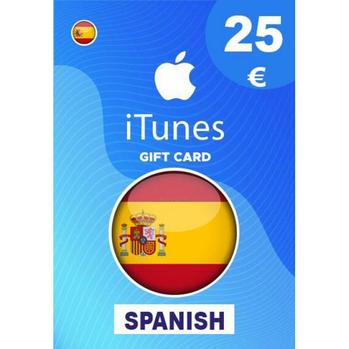 Apple iTunes Gift Card 25 EUR iTunes Key Spain (Es)