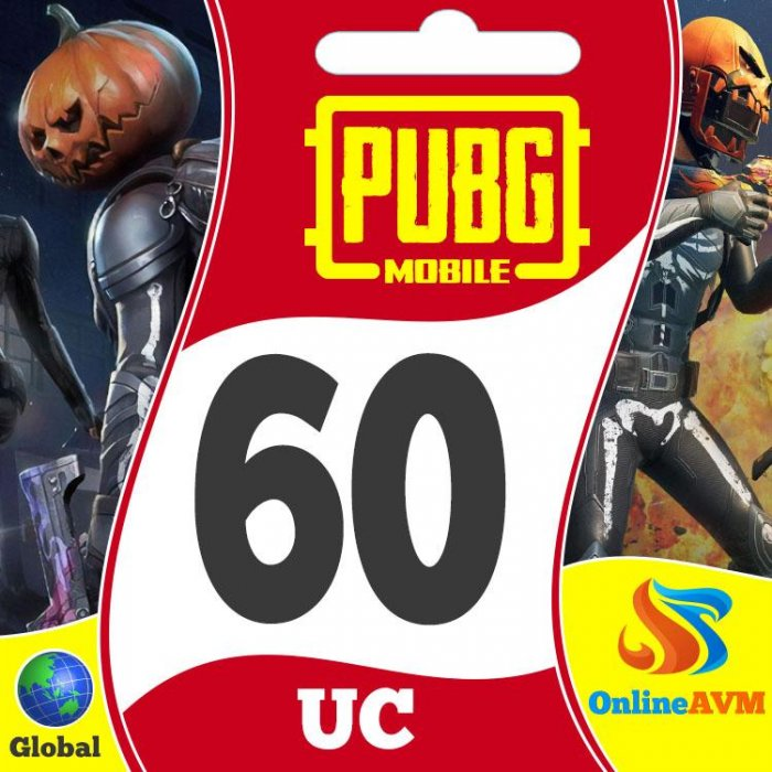 PUBG Mobile 60 Unknown Cash Pubg Mobile Uc