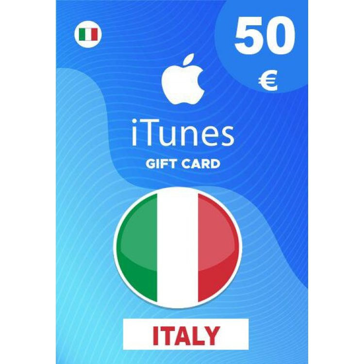Apple iTunes Gift Card 50 EUR iTunes Key İtaly