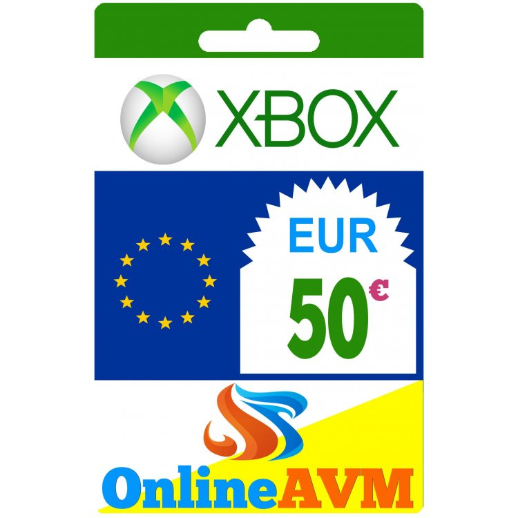 Xbox Live Gift Card 50 Eur Xbox Gift Card 50 Eur