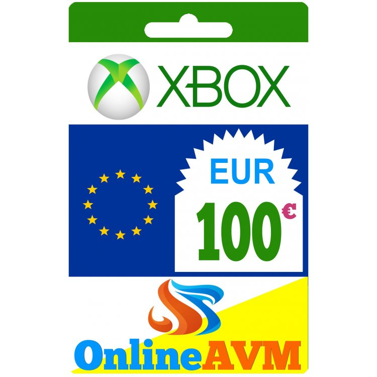 Xbox Live Gift Card 100 Eur Xbox Gift Card 100 Eur