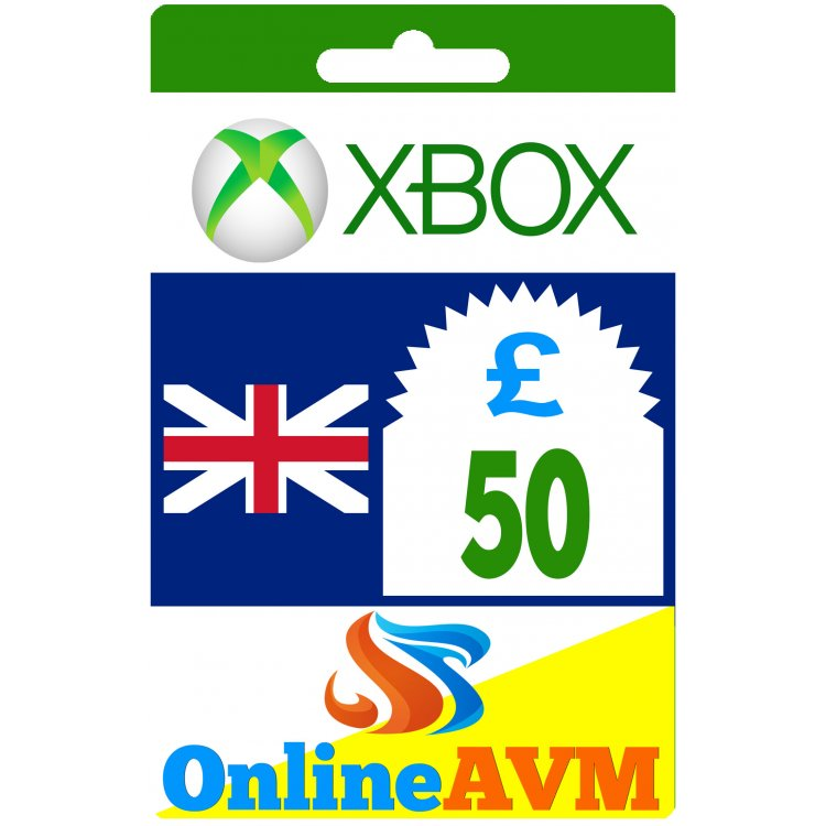 £50 Xbox Digital Gift Card