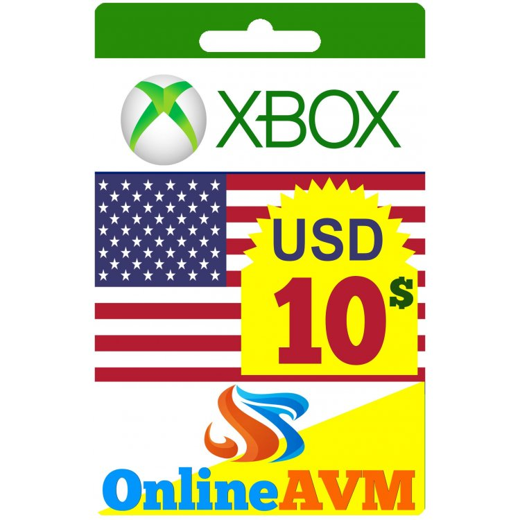 Xbox Gift Card 10$ USD– Digital Code