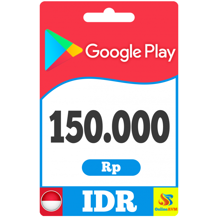 Google Play Gift Card 150000 IDR Indonesia