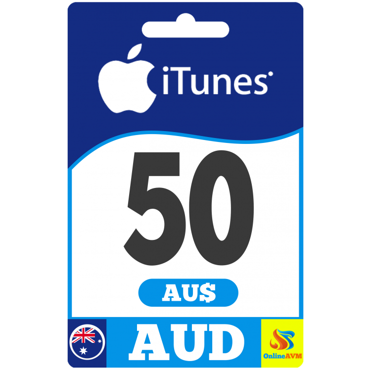 Apple iTunes Gift Card 50 AUD iTunes AUSTRALIA