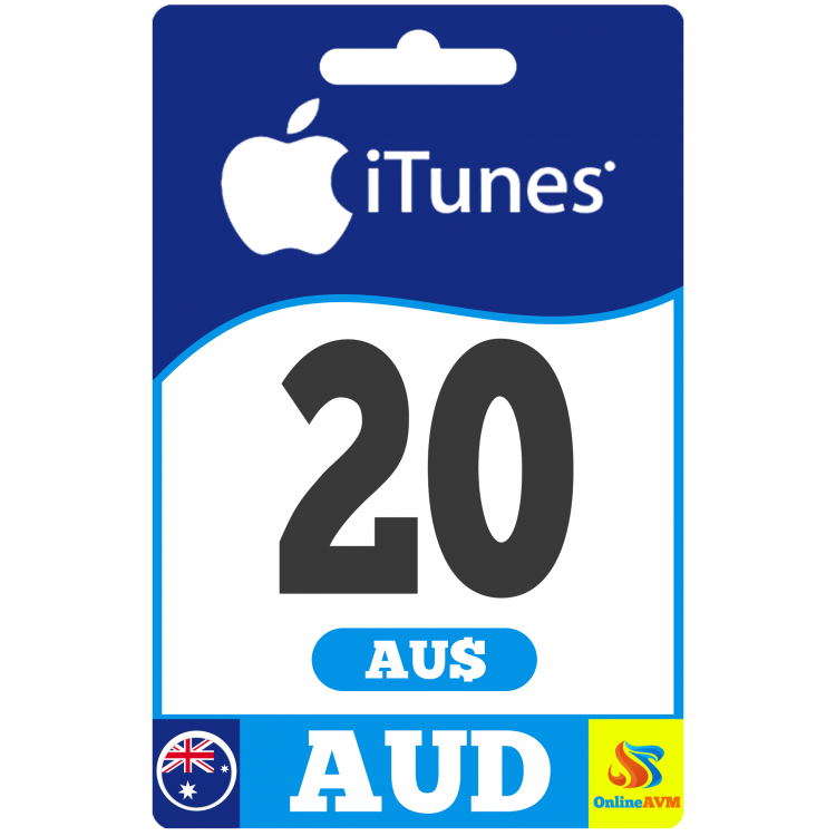 Apple iTunes Gift Card 20 AUD iTunes AUSTRALIA