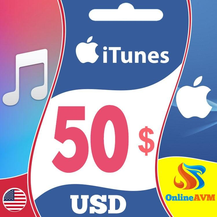 Apple iTunes Gift Card 50 USD iTunes Key UNITED STATES