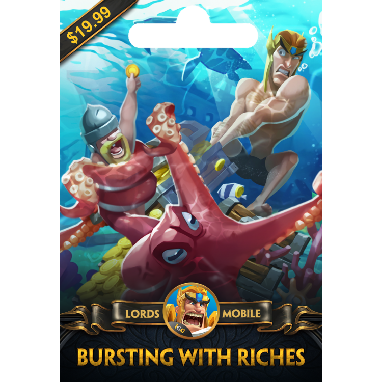 Lords Mobile Bursting with Riches