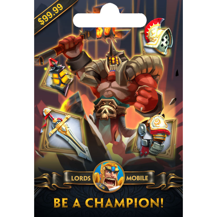 Lords Mobile Be a Champion